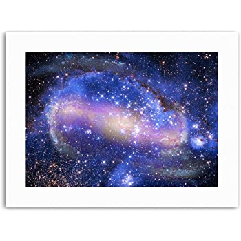 b2e557642f0a7 Wee Blue Coo Spiral Galaxy Nebula Stars Deep Space Picture Canvas ...
