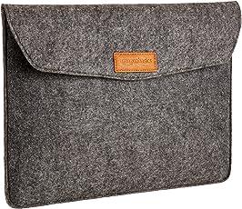 AmazonBasics - Custodia a guaina in feltro, per laptop 13 Pollici (33 cm), colore: carbone