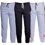 VIMAL JONNEY Men's Slim Fit Track pants(Pack of 3)