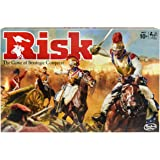 Hasbro Gaming Risk Game, Strategy Board Game; Updated Figures Improved Mission Cards; War Crates; For Kids Ages 10 And…
