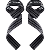 Fitgriff® Lifting Straps - Padded Weightlifting Wrist Straps for Bodybuilding, Weight Training and Fitness - for Men and Wome