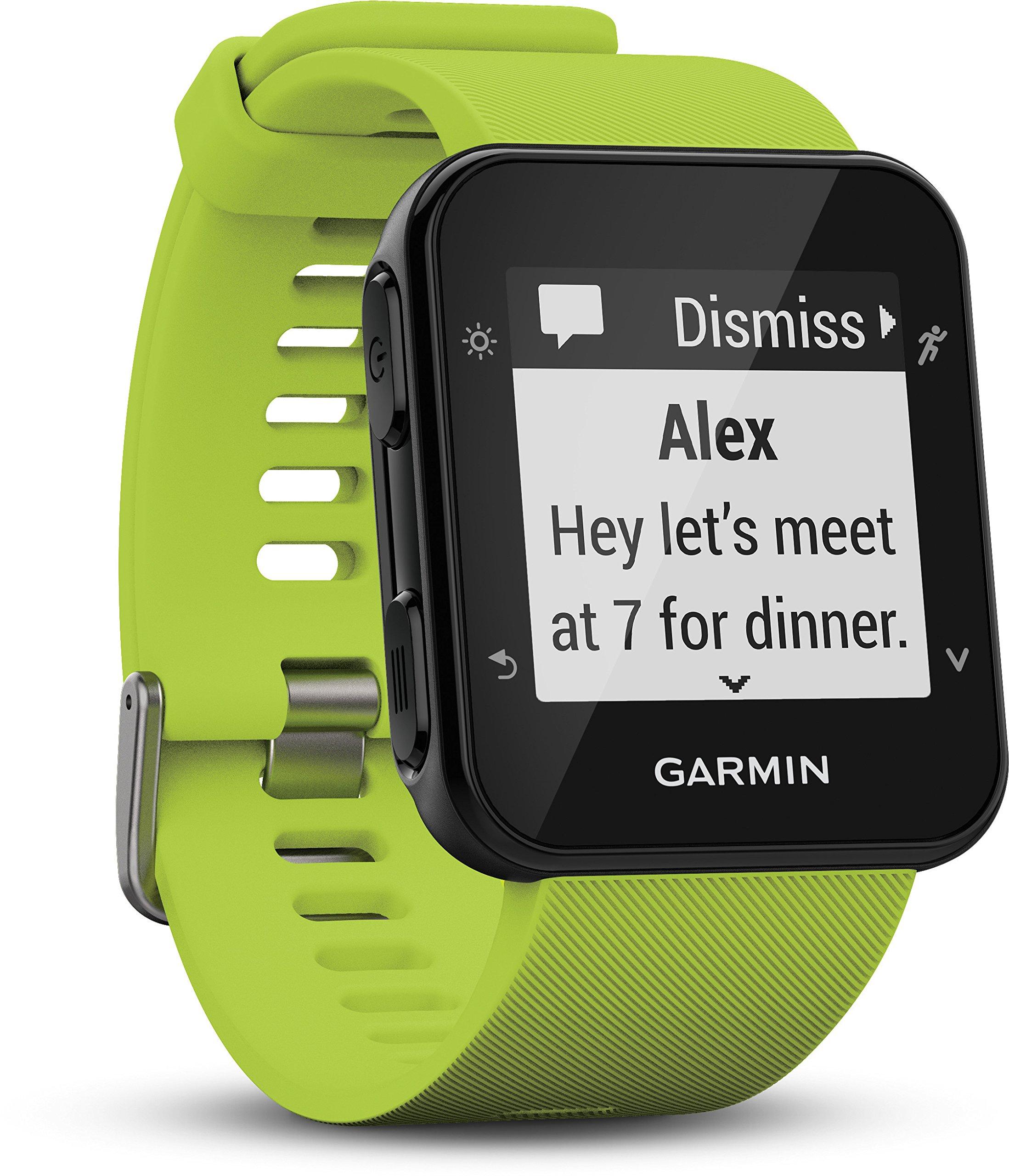 Garmin Forerunner 35 GPS Running Watch con Sensore Cardio al Polso, Connettività Smart e Monitoraggio Attività… 4 spesavip