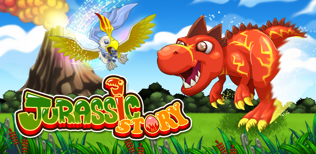 Image of Jurassic Story Dragon Games - Dinosaur Pet Breeding City Sim Game Free Fun For Monster Mania, Kids, Boys and Girls