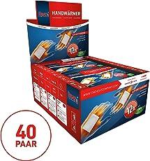 The HEAT company Handwärmer Wärmekissen 12 Std. Wärmedauer, 10 bis 40 Paar