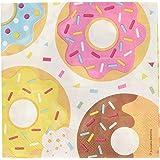 8C322172 Multicolore Tovagliolo 33 x 33 cm Ciambelle-Donut Creative Convertting