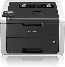 Brother HL-3172CDW Kompakter Farbdrucker (Drucken, A4, 22 Seiten/Min., 2.400x600 dpi, LAN, WLAN, Duplexdruck, Print AirBag für 150.000 Seiten)