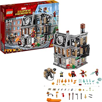 LEGO Super Heroes Avengers Set Costruzioni-la Resa dei Conti al Sanctum Sanctorum, 76108
