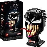 LEGO 76187 Marvel Spider-Man Le Masque de Venom, Jeu de Construction pour Adulte, Modèle de Collection, Idée de Cadeau