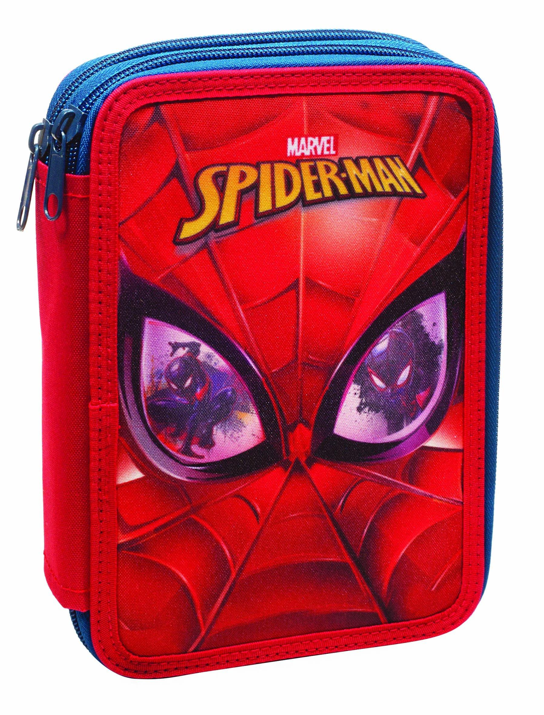 Factorycr Marvel – Plumier Doble Spiderman 14x20x3,5 cm