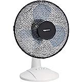 Amazon Basics Ventilateur de bureau oscillant 3 vitesses, 40 W, noir