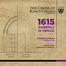 1615 Gabrieli in Venice (SACD hybrid + Audio Blu-Ray)