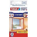 tesa Insect Stop Comfort Vliegenhor voor Ramen - Insectenhor, raamhor - Met klittenband - Makkelijk op maat snijden - Muggenh