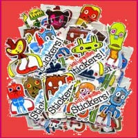 Stickers for  Social Networks