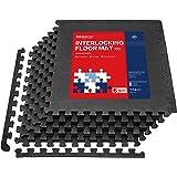 PROIRON Esterilla Puzzle de Fitness Alfombra EVA Espuma para Máquinas de Deporte y Gimnasios 60 x 60 cm