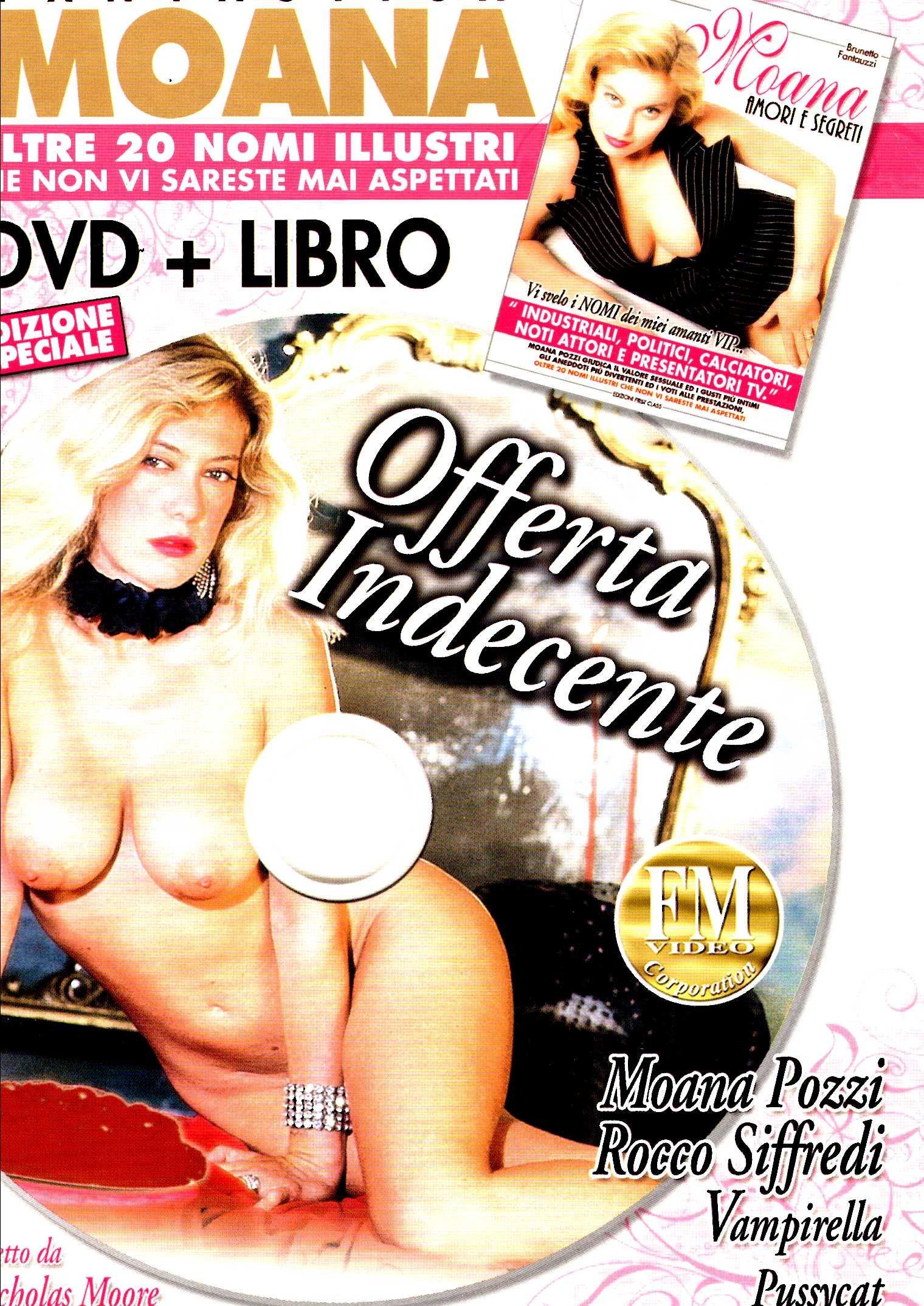 Moana - offerta indecente + Book (XXX Adult) (Dvd) Italian Import