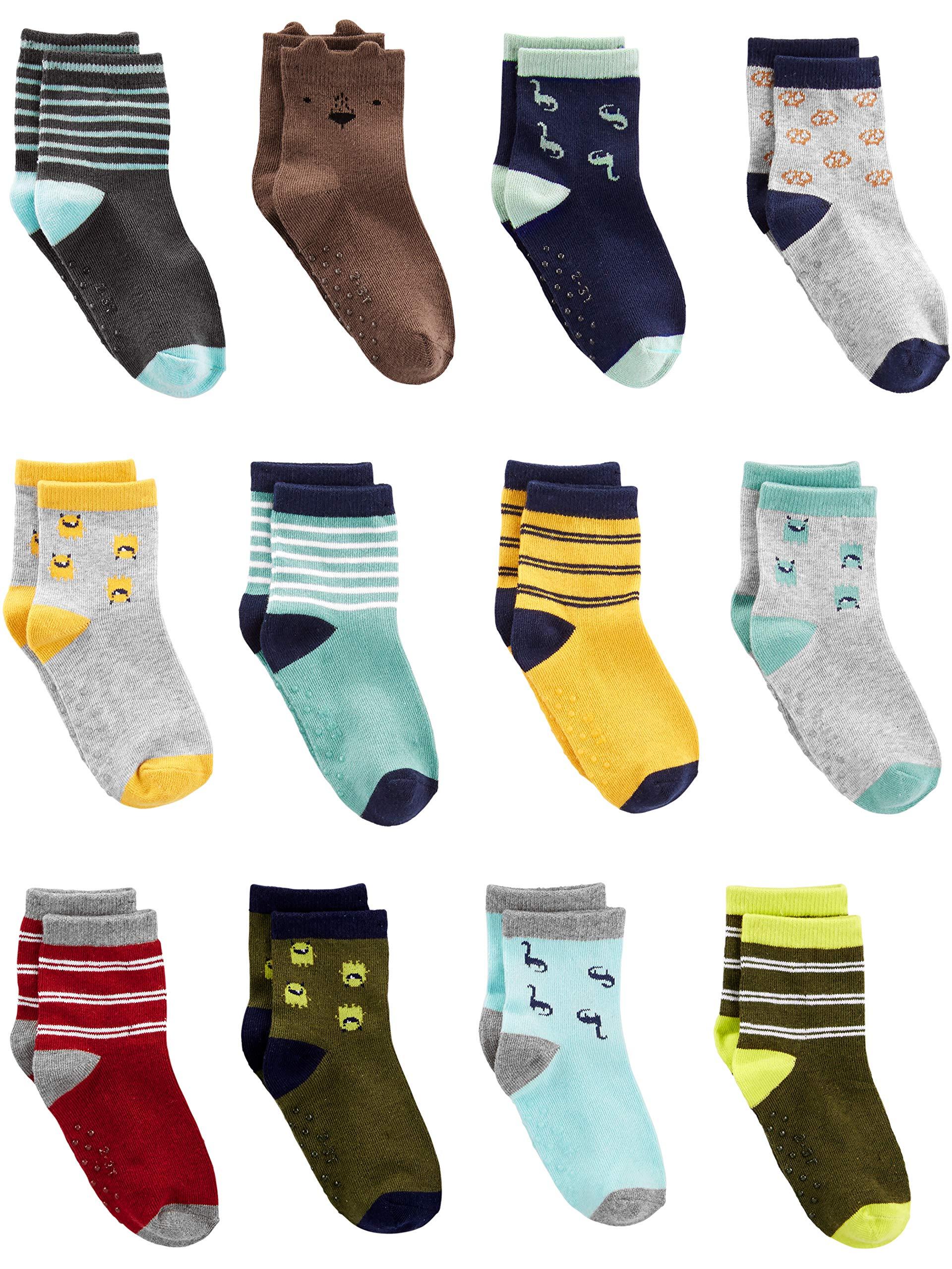 Simple Joys by Carter's Pack de 12 calcetines para Bebés y Niños 1