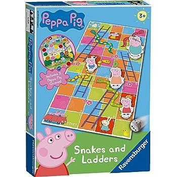 Ravensburger Peppa Pig Snakes & Ladders Game