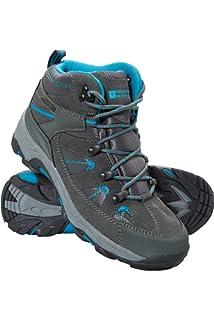 263d47befc23a4 Mountain Warehouse Rapid Wasserfeste Stiefel für Damen - Wanderschuhe aus  Wildleder und Netzstoff