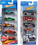 Hot Wheels 1806 - HW Five-CAR Gift PAC (LY 1806) & 5 Car Gift Pack (Styles May Vary)