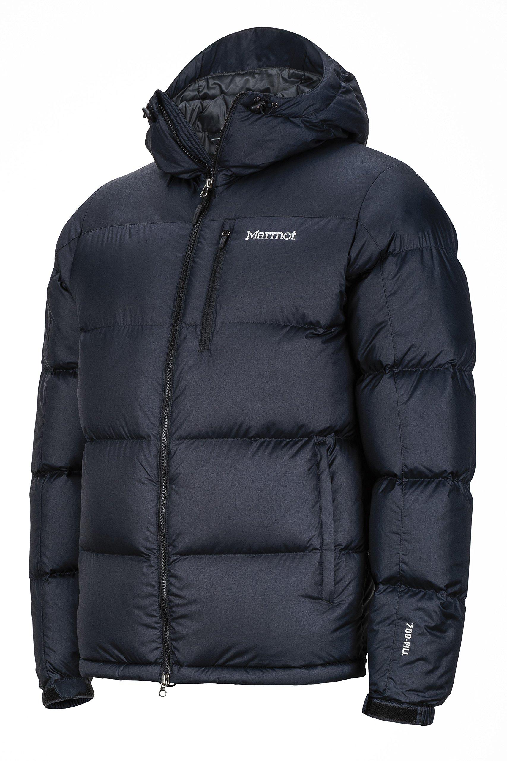 91kI2hZZyeL - Marmot Guides Down Winter Puffer Jacket with Hood, Men, 700 Fill Power Down