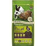 Excel 13910/3887 Excel Burgess nuggets met mint volwassenen konijnvoer 10 kg - groen, 4 kg
