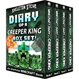 Diary of a Minecraft Creeper King BOX SET - 4 Book Collection 1: Unofficial Minecraft Books for Kids, Teens, & Nerds - Advent