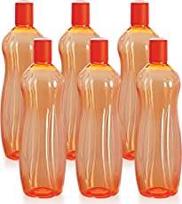 Cello Sipwell PET Bottle Set, 1 Litre, Set of 6