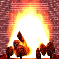 Yule Log (Fake Fireplace) - MERRY CHRISTMAS and Happy Holidays from Skunk Software