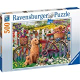 Ravensburger 15036 Cute Dogs in The Garden 500 Piece Jigsaw Puzzle for Adults & for Kids Age 10 and Up