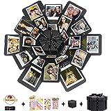 Hbsite Explosion Box Sorpresa DIY Scatola Esplosione di Foto Fatte a Mano Amore Memoria Scrapbooking Confezione Regalo 6 Facc