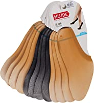 Müjde Kadın Opak Suba Çorap, 12'li Paket (8 Ten - 4 Siyah), Teb ebat-Standart beden