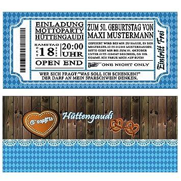 Schön Einladungskarten Zum Geburtstag Oktoberfest 50 Stück Bayrisch Bayrischen  Bayerrisch Hüttengaudi Bier Geburtstagseinladungen: Amazon.de: Bürobedarf U0026  ...