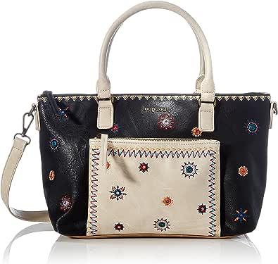 Desigual Damen Shopper Schultertasche Handtasche Handbag Bag Bols Cristal Moon Padua 21SAXPB6
