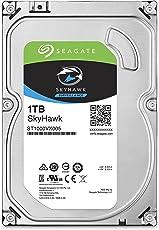 Seagate Skyhawk 1TB Surveillance Hard Drive - SATA 6Gb/s 64MB Cache 3.5-inch Internal Drive (ST1000VX005)