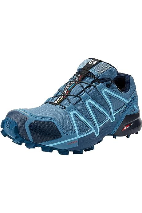 Salomon Speedcross 4 Gtx W, Zapatillas de Running Mujer, Rojo (Barbados Cherry/Poppy Red/Deep Lago), 42 2/3 EU: Amazon.es: Zapatos y complementos