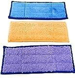 Nass, Feucht und Trocken Wischtücher Microfaser Pads, Tücher passend für Staubsauger Braava Jet 240, 241, 250 waschbar und wiederverwenbar