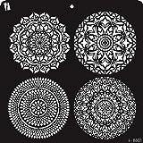 iCraft Decorative Layering Template Stencil (i-8801),12 X 12 Stencil,