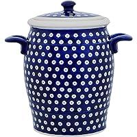 Bunzlauer Keramik Pot en céramique avec couvercle Motif 42 4,5 l