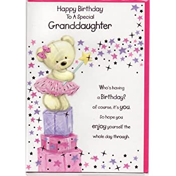 86 Verses For Birthday Cards Granddaughter