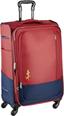Skybags Footloose Romeo Polyester 68 cms Red Softsided Suitcase (STROW68ERED)