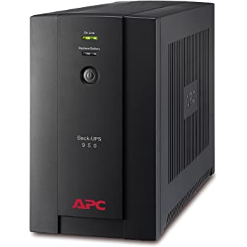 APC Back-UPS BX - BX950UI - Gruppo di continuità (UPS) Potenza 950VA (AVR, 6 Uscite IEC-C13, USB, Shutdown Software)