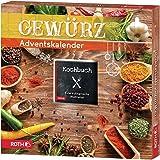 ROTH Gewürz-Adventskalender 2020 gefüllt mit 24 hochwertigen Gewürzen und Kochbuch zum Kochen im Advent, Kräuter…