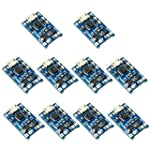 Tianzhudm® 10pcs TP4056 5V 1A Micro USB 18650 Lithium Battery Charging Board Charger Module with Protection Dual...
