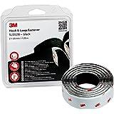 3M SJ352Bbk Ruban Boucles et Crochets, solutions de fixations amovibles - offre une alternative facile aux fermetures éclair,