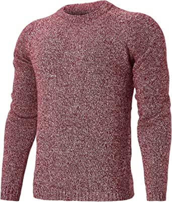 Idgreatim Donna Maglione Collo Alto Vintage Elegante Dolcevita Maglieria Lunghe Invernali Sweater Baggy Jumper Top Casual Giuntura Pullover