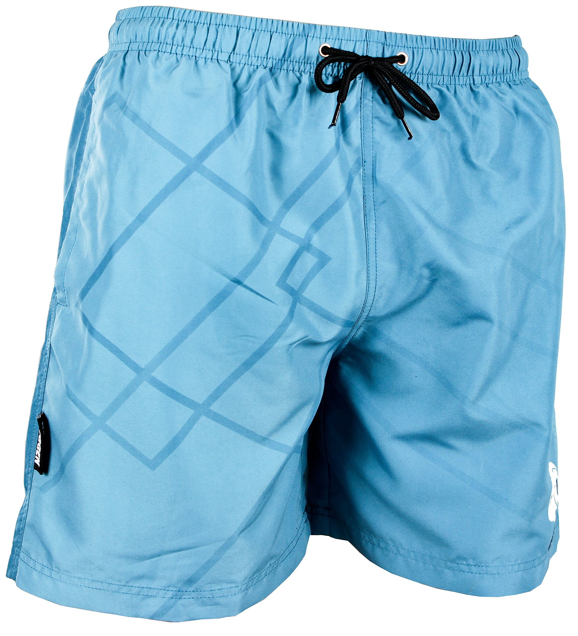 a69d90573 GUGGEN Banador de Natacion para Hombre Traje de Bano Azul - Mejores ...