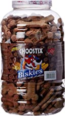 Choostix Biskies with Real Mutton Dog Treat, 1 Kg (Jar)