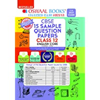Oswaal CBSE Sample Question Paper Class 12 English Core Book (Reduced Syllabus for 2021 Exam)