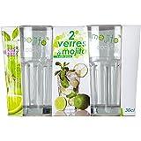 CMP CMKDO8509 Kit Mojito C/ 2 Vasos, Verde, 19.2x10.6x0.5 cm ...