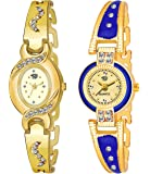 SWADESI STUFF Analogue Multicolour Dial Women's Watch (Pack of 2)